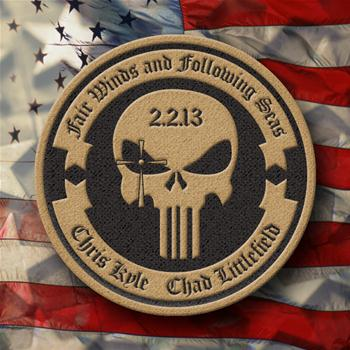 Chris Kyle & Chad Littlefield Memorial Patch Order Product379559